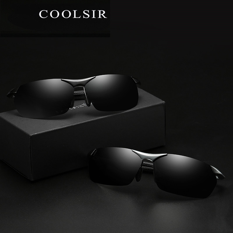 sunglasses for men polarized brand designer spectacles HD vintage driving fashion eyewear male Oculos de sol UV400 2373