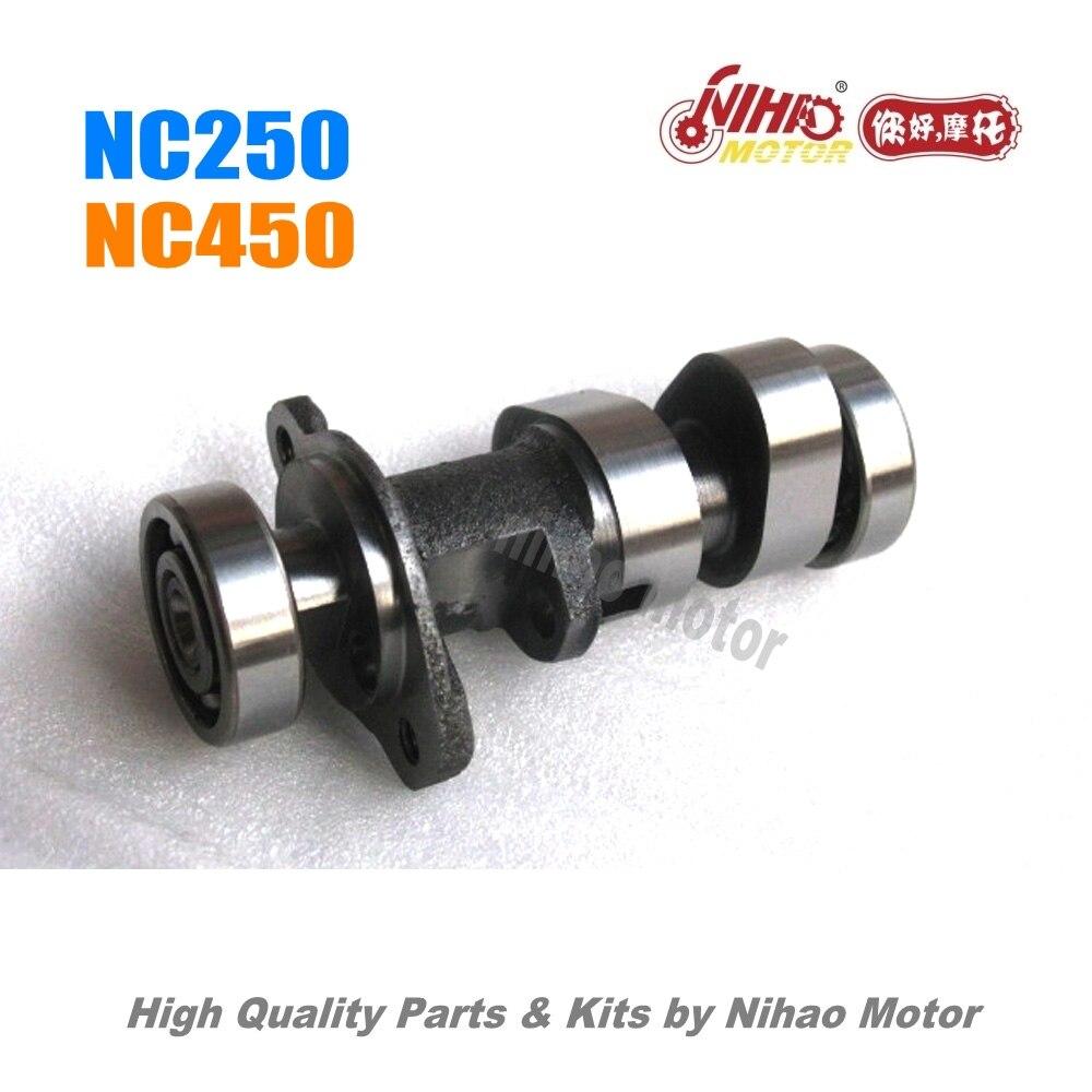 65 NC250 pièces arbre à cames ZONGSHEN moteur NC RX3 ZS177MM (moteur Nihao) KAYO Motoland esb Megelli Asiawing Xmoto