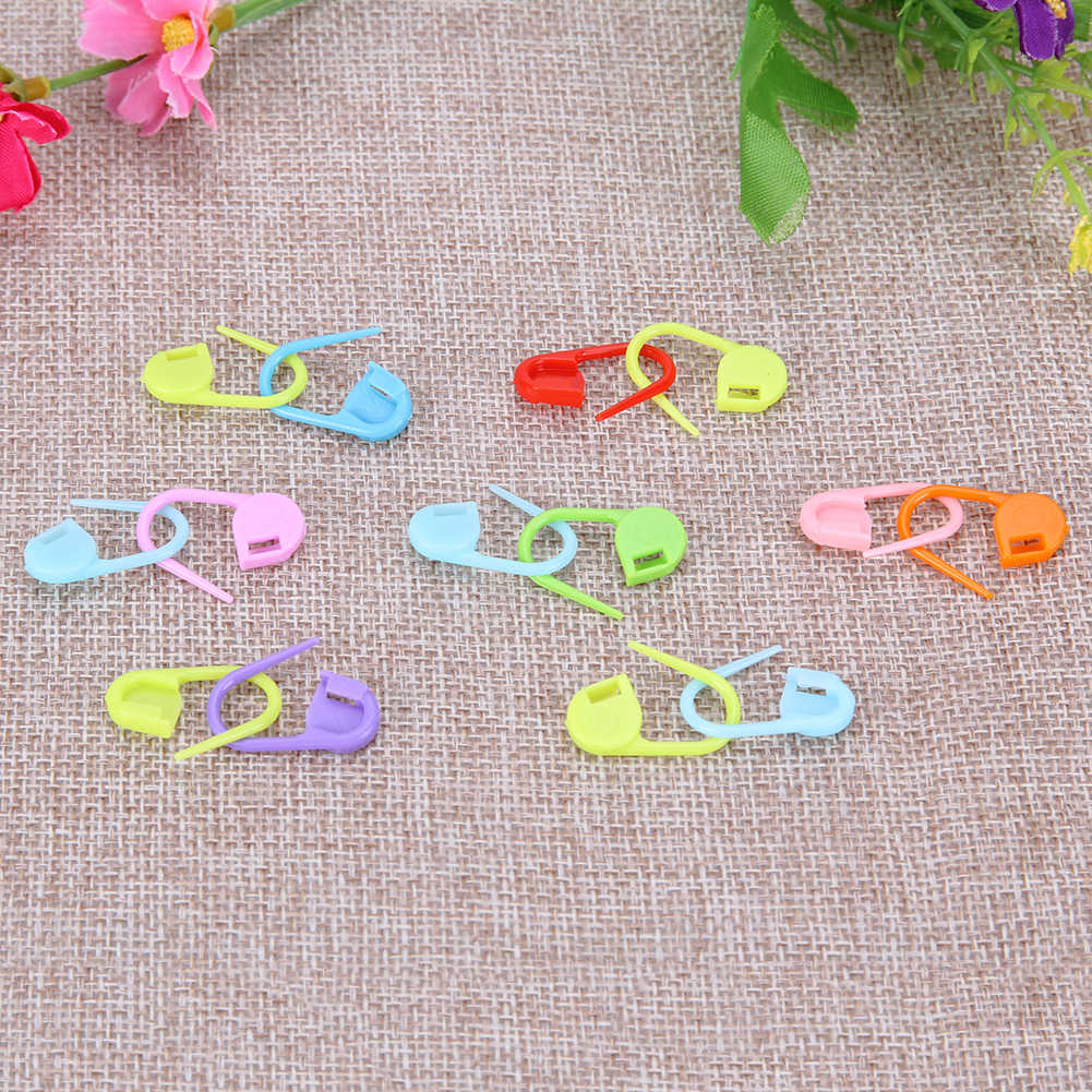 Detail Feedback Questions About 100pcs Locking Stitch Markers Resin