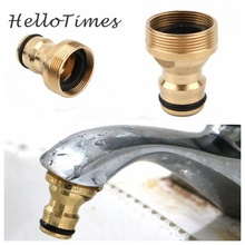 Connector Fitting Hose Tap-Snap-Adaptor Water-Tube Brass M24-Thread Garden M22