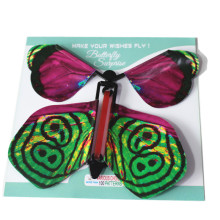 Magic Flying Butterfly Wind Up Surprise Butterfly Novelty Gift Children Toy