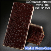 CJ16 Genuine Leather Lanyard Wallet Phone Case For Huawei Y7 Prime Phone Cover For Huawei Enjoy 7 Plus Phone Bag