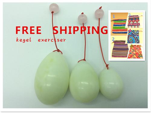 Natural jade egg for Kegel Exercise pelvic floor muscles