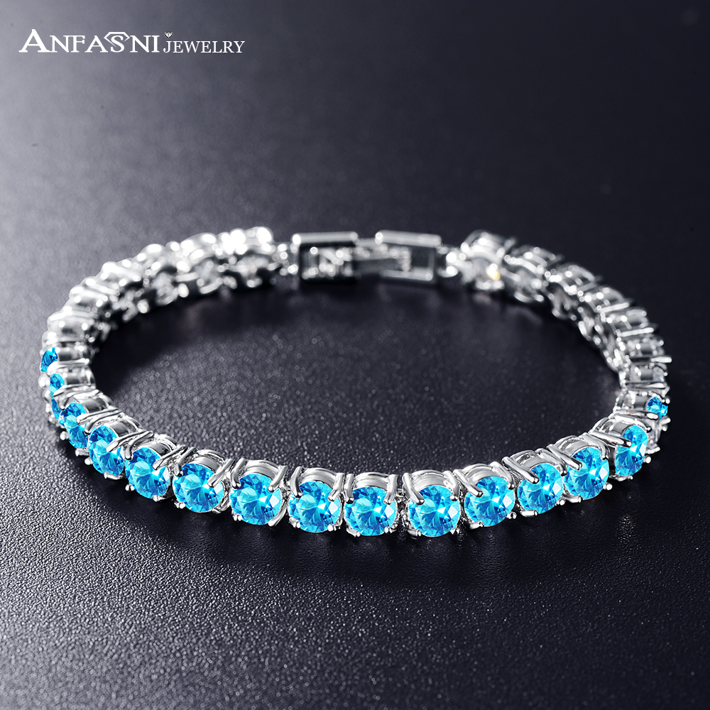 pm product silver crystal bfme in oval shiny cubic zircon women bracelet pid for china url