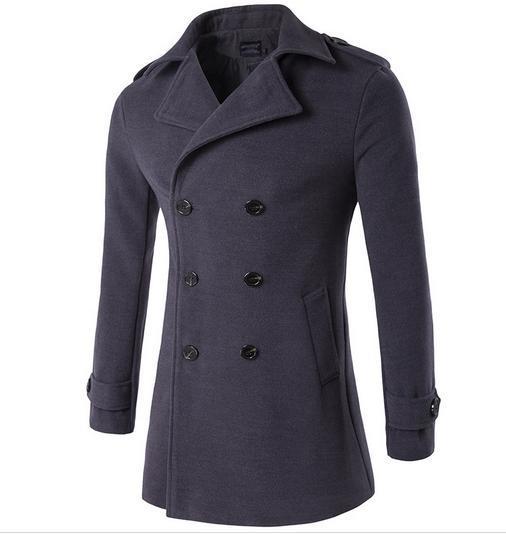 2017 de moda Más Tamaño Los Hombres Gabardina Ocio Gótico Tallas abrigo 3xl 4xl blazer masculino traje homme Ukraninians