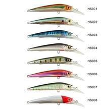 Noeby 1 pcs Big Tongue Sinking Minnow Lures  140mm 50g Japan Deepswim Saltwater Hard Bait 3D eyes Crankbait Fishing Tackle