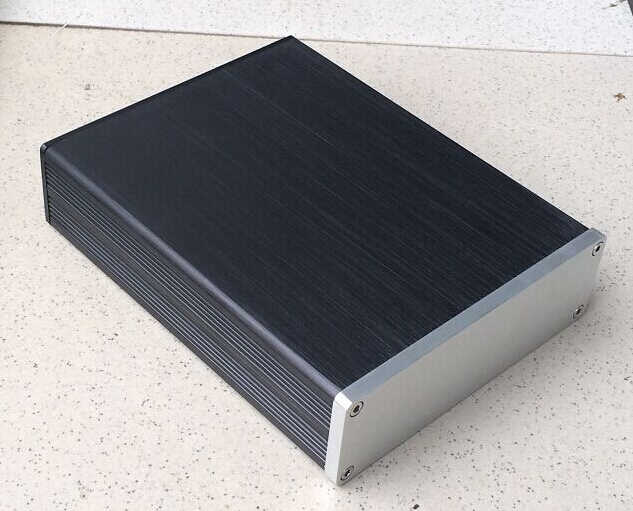 Бесплатная доставка B1304 Полный алюминиевый корпус/мини-усилитель чехол/ящик для преампа/корпус для блока питания
