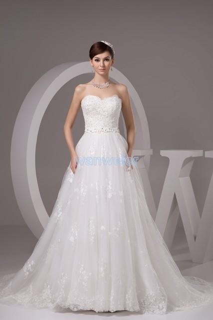 ed551d475efa Il trasporto libero 2016 lily collins nuovo disegno formato custommade abito  da sposa low cost abito