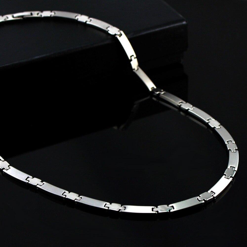 Power Ionics Echt 100% Titanium 99.999% Germanium Ketting Balance w/Doos PT030-in Power Kettingen van Sieraden & accessoires op  Groep 1