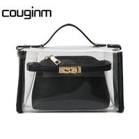 New Hot Fashion Women Transparent Bag Clear Handbag Tote Shoulder Bag Crossbody
