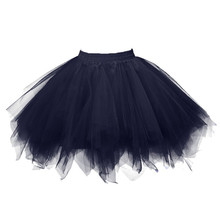2da0375076 Nowych kobiet jupiter tiulowa femme wysokiej jakości plisowana spódnica z  krótkim rękawem dla dorosłych Tutu taniec spódnica dro.