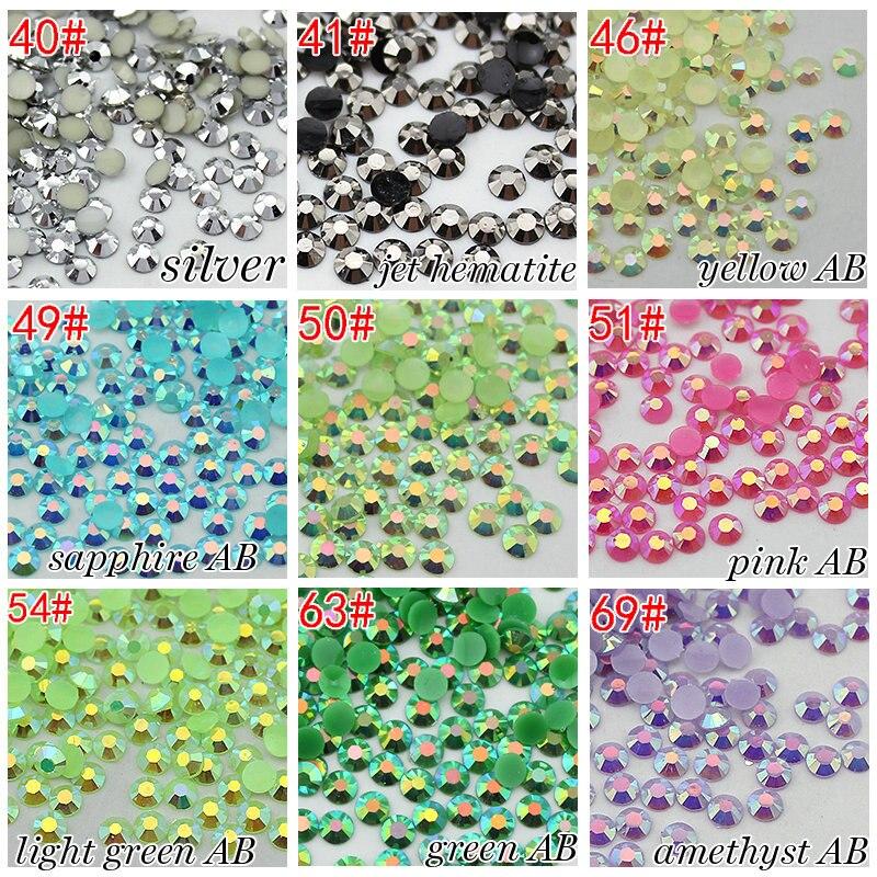 Wholesale 3mm 10000pcs/bag candy AB 3mm flatback trimming resin motif rhinestone sticker realflame 10000 ab дровник