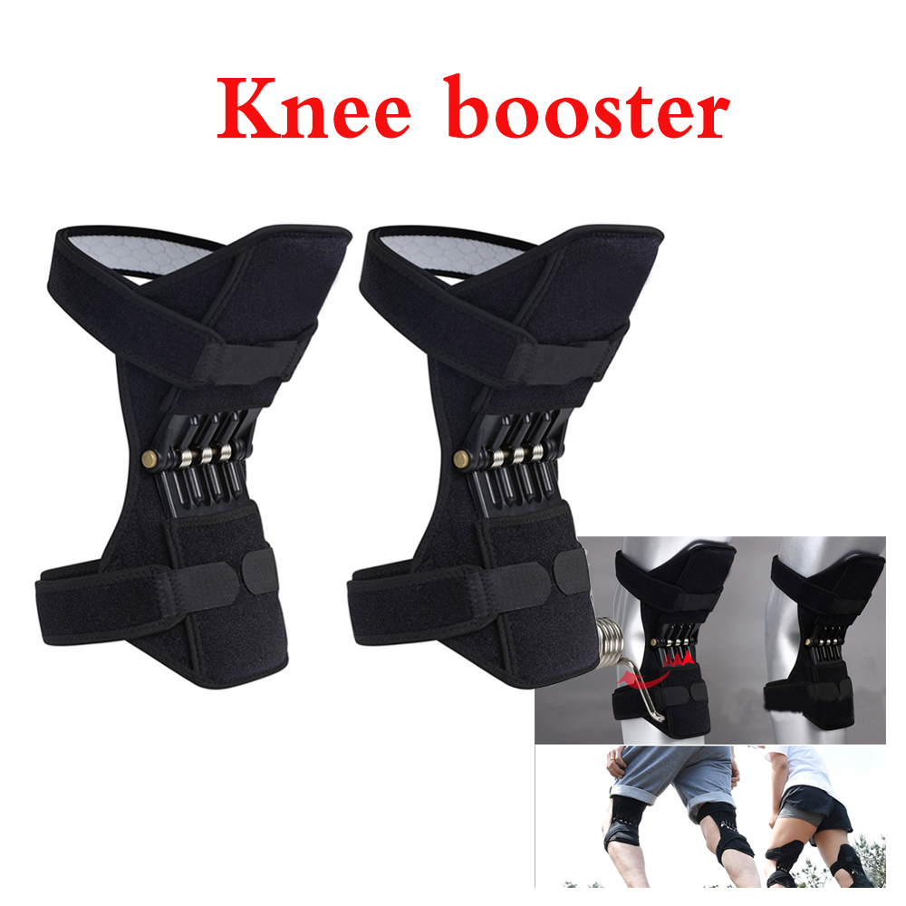 1/2pc Gym Exercise Bands Knee Strap Mountain Climbing Running Knee Booster Walking Pad Knee Pad Knee Joint Protection Device