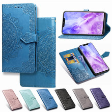 Untuk Huawei Nova 3 Case Huawei Nova 3i Penutup Flip Luxury PU Leather Phone Case Penutup Penuh Screen Protector untuk huawei Nova3e Film(China)