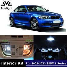 Edislight 14 шт. светодиодные лампы canbus автомобильные лампы Интерьер Пакет Комплект для 2008-2013 BMW 1 серии E82 E87 E88 Карта Купол дверь багажник свет