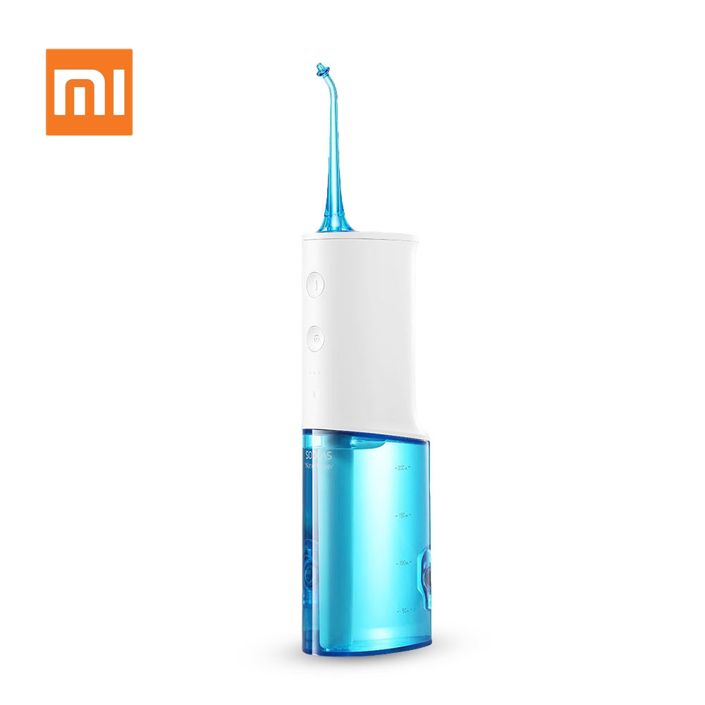XIAOMI SOOCAS W3  Electric Oral Irrigator Portable Wireless Waterproof USB Charging Dental Water Flosser with 3 Cleaning ModeXIAOMI SOOCAS W3  Electric Oral Irrigator Portable Wireless Waterproof USB Charging Dental Water Flosser with 3 Cleaning Mode