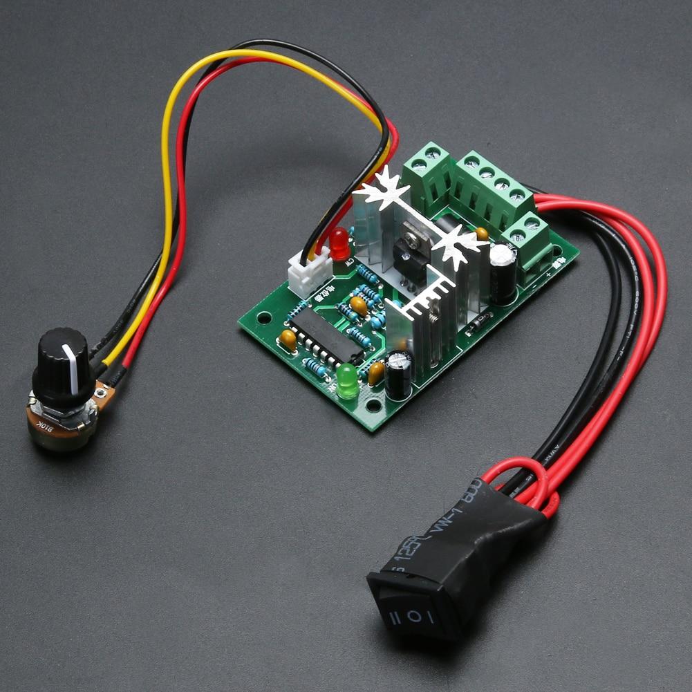 12V 24V 30V 120W PWM Adjustable Volt DC Motor Speed Controller CCM2 LW