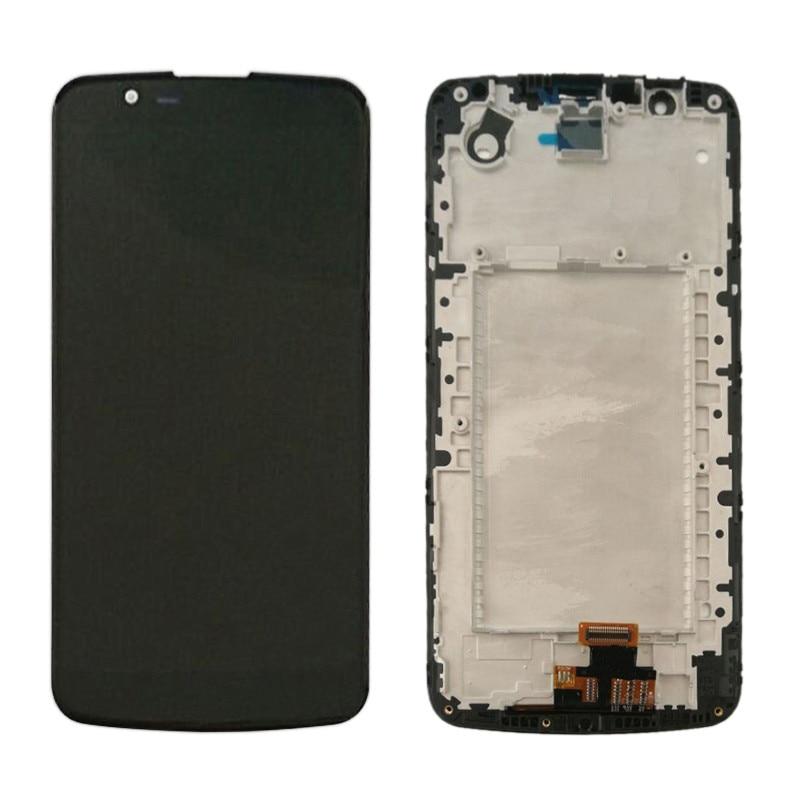 LG K10 K410 K430 K420 LCD With Frame (1)