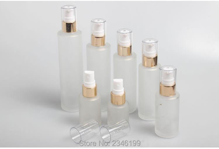10Pcs/Lot 120ML 100ML 80ML 60ML 30ML 20ML Empty Elegant Cosmetic Spray Bottle, DIY Matte Glass Lotion Refillable Containers 100 pcs lot of small glass vials with cork tops 1 ml tiny bottles little empty jars