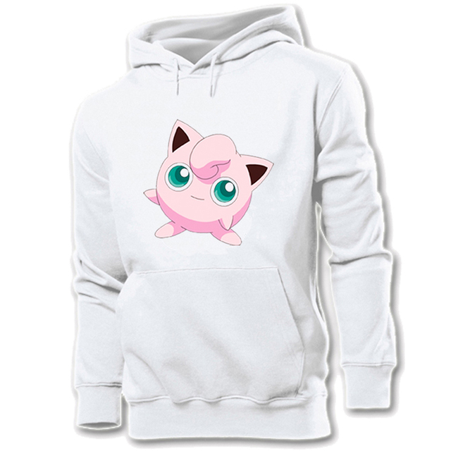 585e4e63 Women Hoodie Pokemon National Pokedex 039 Normal Fairy Jigglypuff 113  Normal Type Chansey Graphic Pullover Girl Sweatshirt Tops