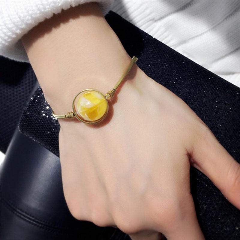 Japanese and Korean Handmade Bracelet Best-selling Red Elastic Minimalist Style