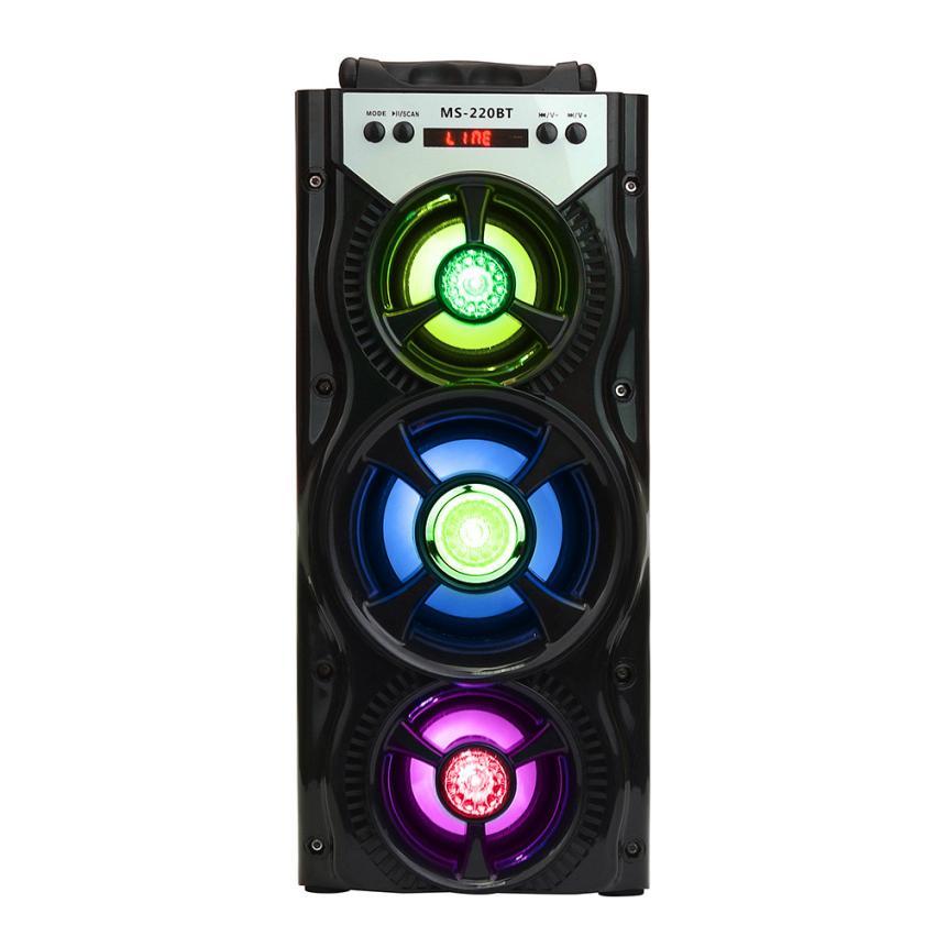 Good Sale Multimedia Bluetooth Wireless Portable Speaker Super Bass with USB/TF/AUX/FM Radio Feb 14