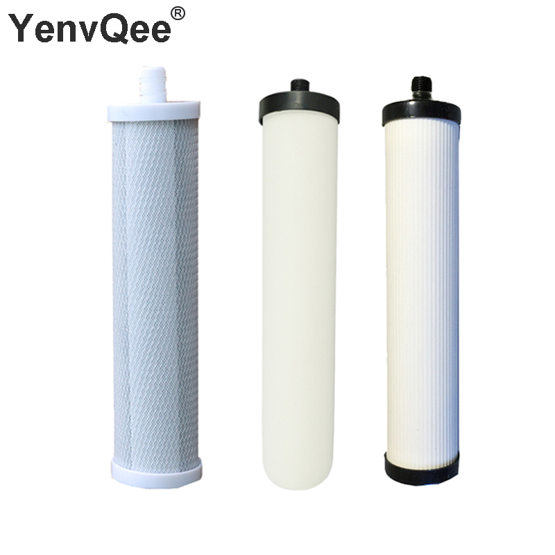 10 Inch CTO Compressed+Ceramics Activated Carbon Filter+UDF Resin Granular Activated WATER FILTER FOR REVERSE OSMOSIS Granular