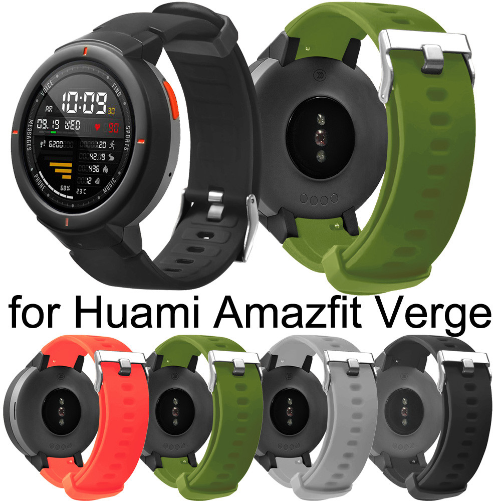 HIPERDEAL 2019 Soft Silicone Watch Band Replacement Bracelet Strap For Huami Amazfit Verge Casual Fashion Watch Band Ja15