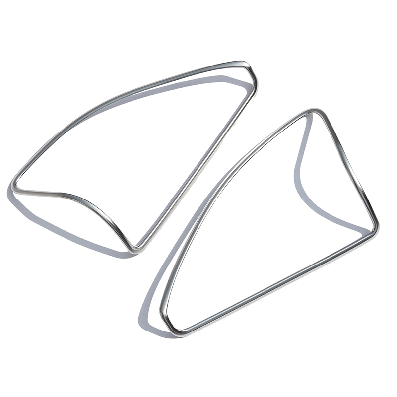 ABS Chrome Styling Door Speaker Cover Trim Sticker For Mercedes Benz ML W164 350 400 GL X164 450 2013-2016 Accessories image