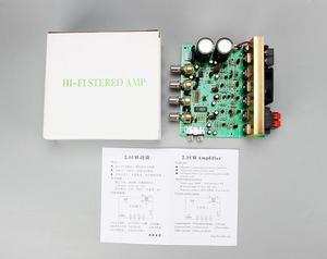 Image 5 - Placa amplificadora de Audio X2, 100W, 2,1 canales, alta potencia, 120w, subwoofer, amplificador de graves, placa RCA para altavoces y teatro