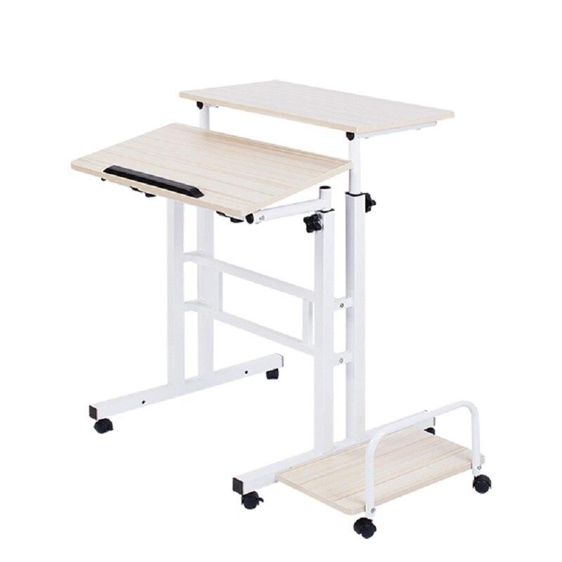BSDT A standing Wo language notebook desktop comter desk lifting table FREE SHIPPING
