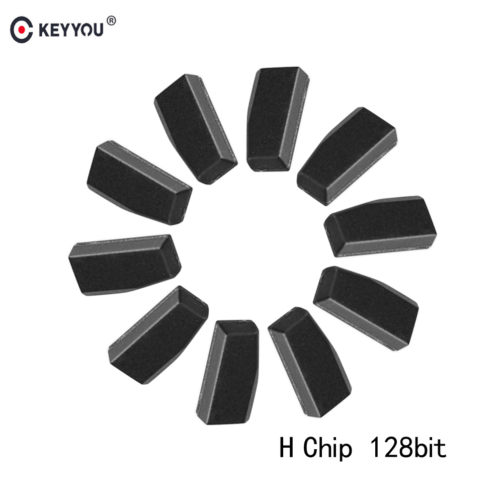 KEYYOU 10X H Chip 128 Bit Transponder Chip Suitable For Toyota Rav4 Camry Corolla Highlander Sienna