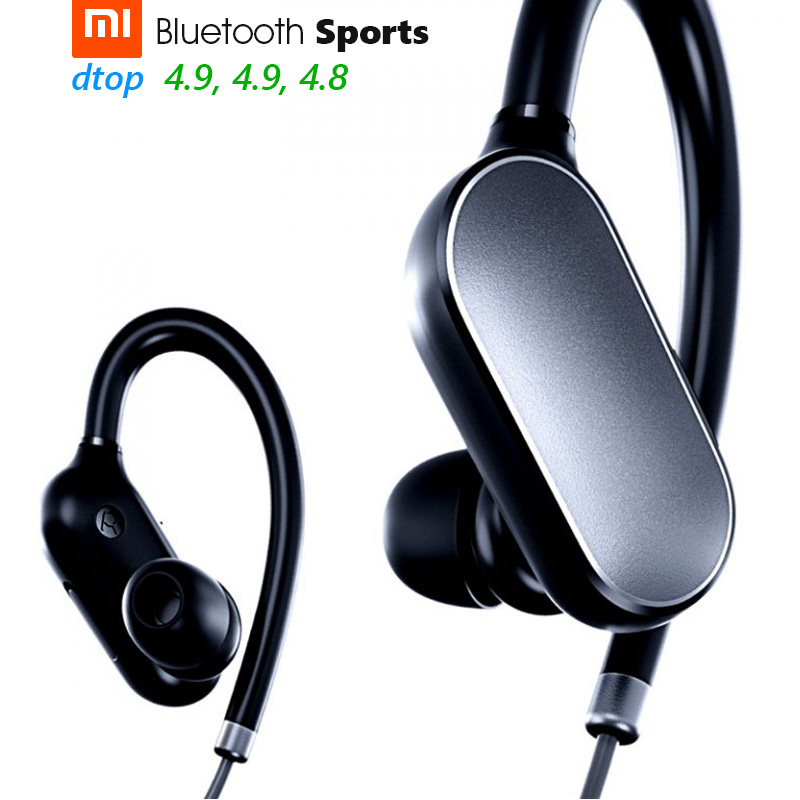 original xiaomi mi sports bluetooth headset bluetooth 4 1 music earbuds mic ipx4 waterproof. Black Bedroom Furniture Sets. Home Design Ideas