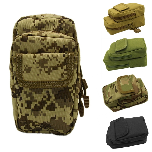 12485409743d8e Caccia Sport Marsupio Molle Airsoft Paintball Tactical Shooting Magzine  Holster Bag