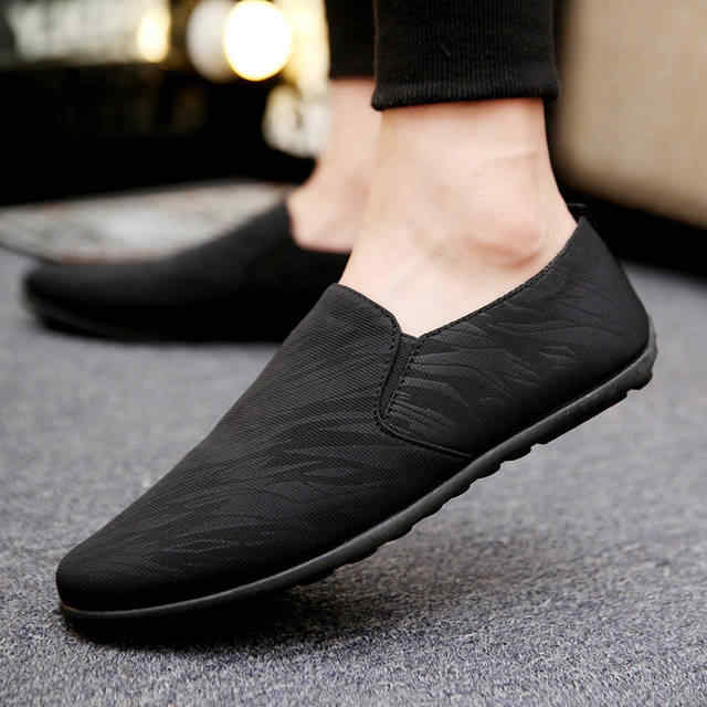 Mens Espadrilles Summer Fashion Flat Men Shoes Male Casual Shoes Slip On Lazy Men Flats Shoes Cheap Moccasins Men Loafers M564