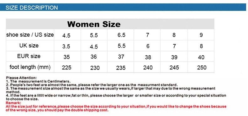 TURN women size