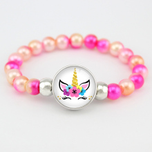 Unicorn Mermaid Beads Bracelets Trendy Jewelry Women Girls Birthday Gift Many Styles to Choose