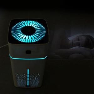 Image 5 - 1000Ml nawilżacz powietrza ultradźwiękowy dyfuzor Usb zapachowy olejek eteryczny Led Night Light oczyszczacz rozpylający mgiełkę nawilżacz biały