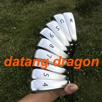 2018 datang dragon golf irons G400 irons with ( 4 5 6 7 8 9 P U W ) 9pcs with dynamic gold S300 steel shaft 9pcs golf clubs