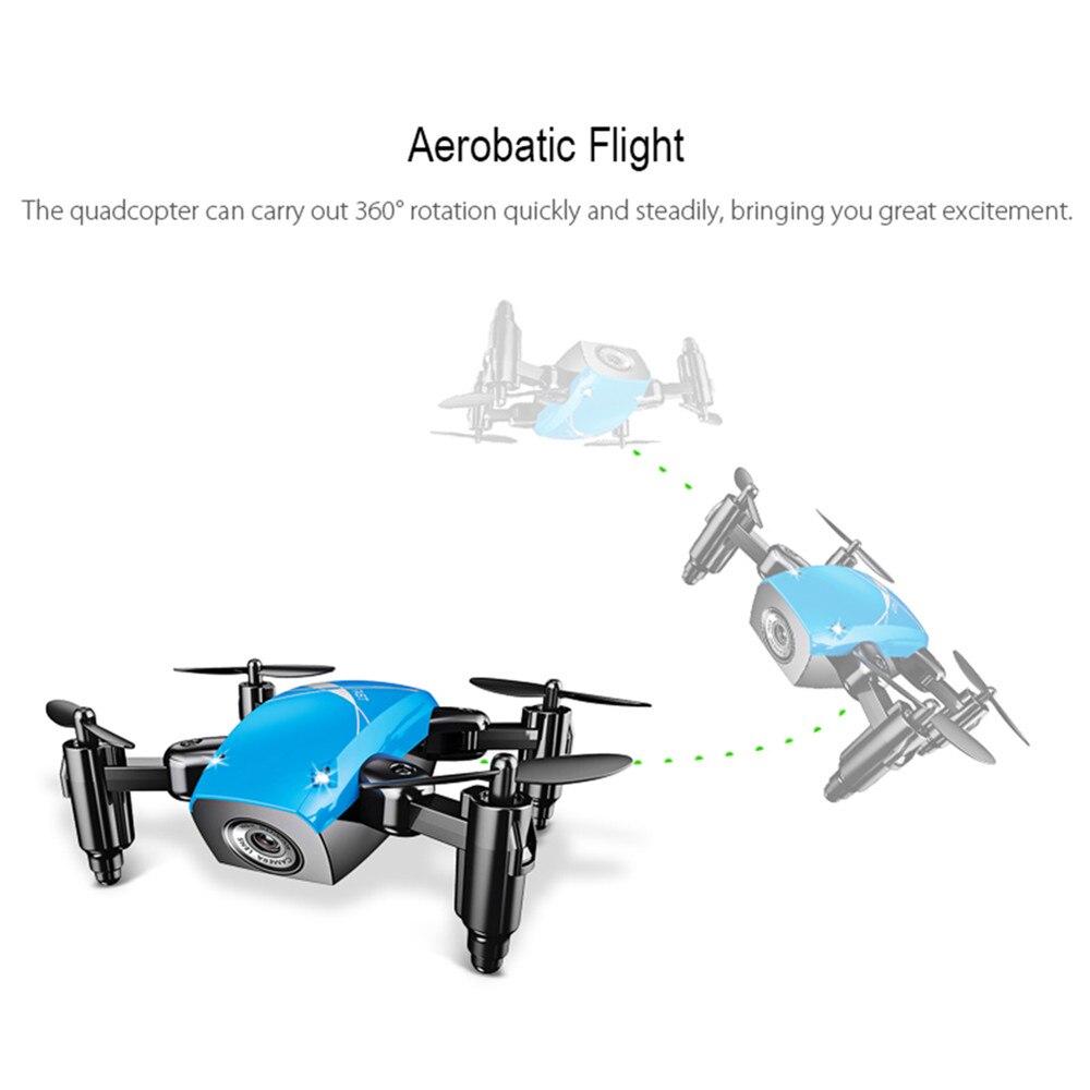 AEOFUN S9HW Mini  WiFi FPV Micro Pocket Drone 2