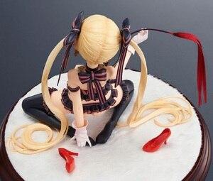 Image 4 - Japonya Anime aksiyon figürü küçük şeytan yerli yaratıcının koleksiyonu Stella prenses diz çökmüş PVC 18cm modeli seksi kız yeni oyuncak