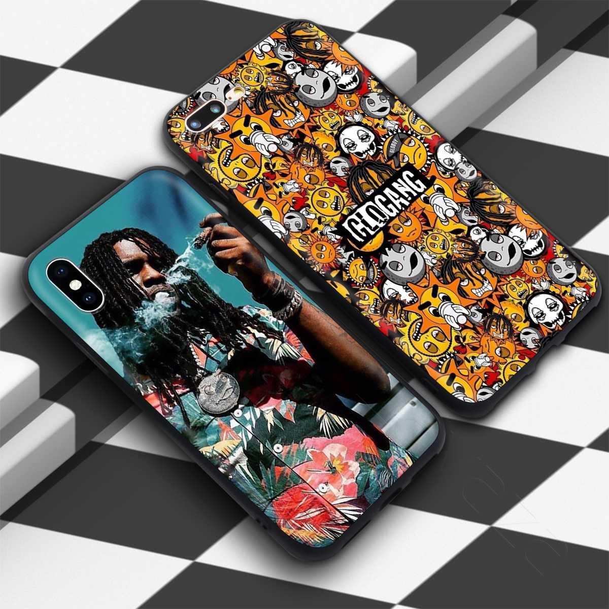 Lavaza Glo Gang şef Keef kılıfı iPhone 11 Pro XS Max XR X 8 7 6 6S artı 5 5s se