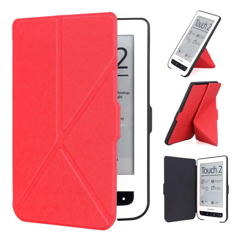 AFesar bricolage étui pliant compatible avec Pocketbook 624 625 626 eReader couverture et pour pocketbook Basic Touch lux bon étui