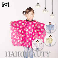 """Hairdressing Wraps For Kids 1x 28""""x47"""" Child Hair Cutting Waterproof Cape Barber Styling Salon Polyester Wrap Cartoon Clothes D4"""