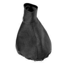 Универсальный автомобильный Стайлинг ручка переключения передач Ручка Gaiter Boot кожаный пылезащитный чехол Замена для Skoda Felicia