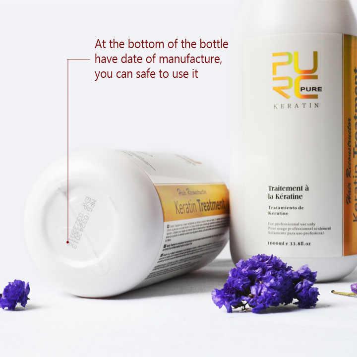 12% Формалин бразильский Кератиновый лечебный и 100 мл глубокий очищающий шампунь профессиональные прически Уход за волосами 3,28 распродажа