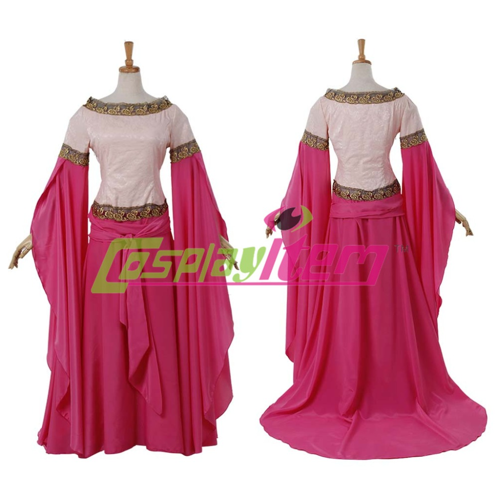 Customized Medieval Victorian Women Dress Southern Belle Renaissance Fancy Party costume Adult Red Wedding - Cosplayitem COS store