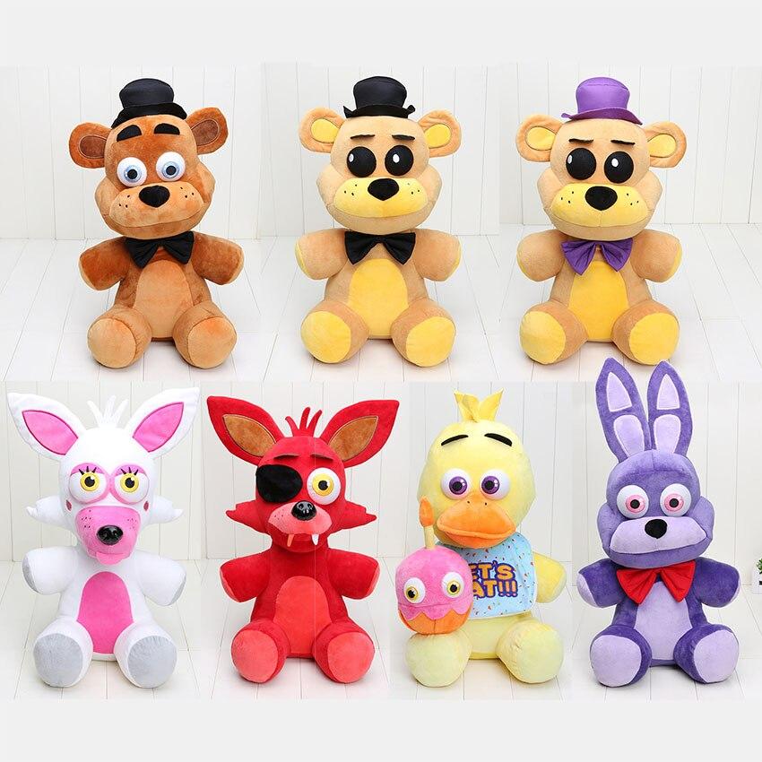 18 45cm Five Nights At Freddys plush font b toys b font freddy foxy bear chica