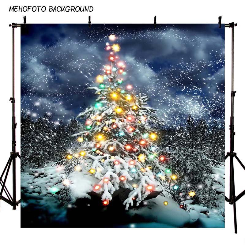 MEHOFOTO Seamless Christmas Theme Photography Backdrops 10X10FT Children Photo Background Props Photo Studio ST-114 mehofoto 8x12ft vinyl photography background christmas theme backdrops light for children snow for photo studio st 328