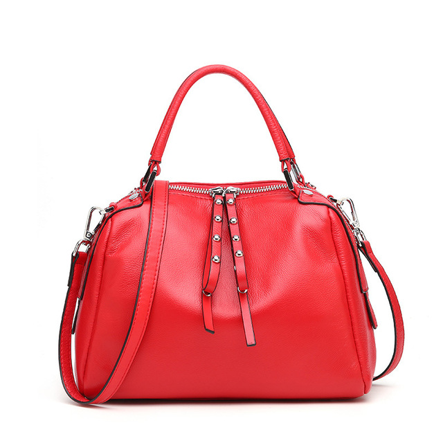 Jososunny Women S Genuine Leather Handbags Las Fashion Natural Tote Purse Female Cowhide All Match